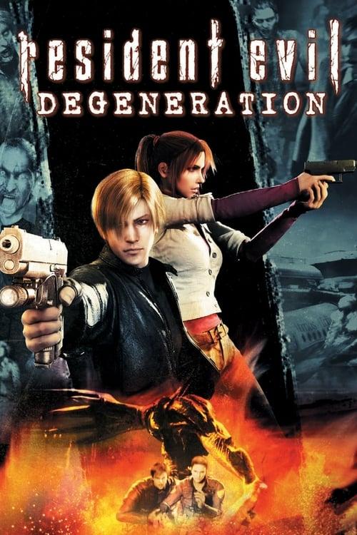 Resident Evil: Degeneration - Movie Poster