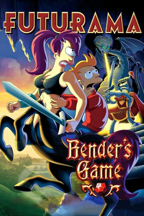 Futurama: Bender's Game - Movie Poster