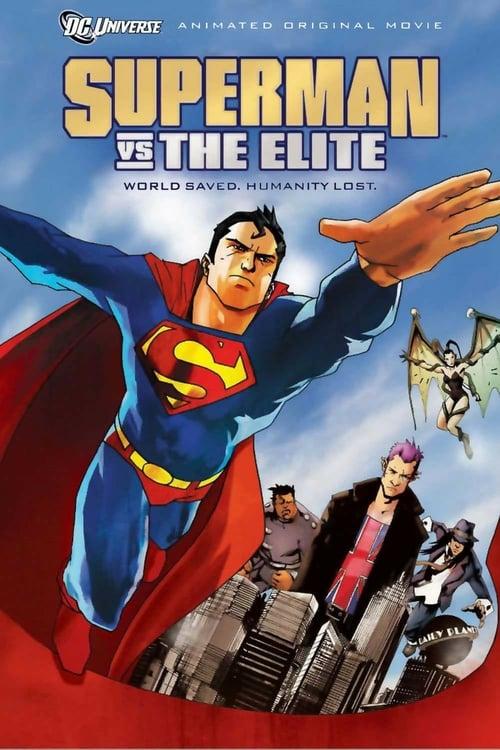 Superman vs. The Elite - Movie Poster