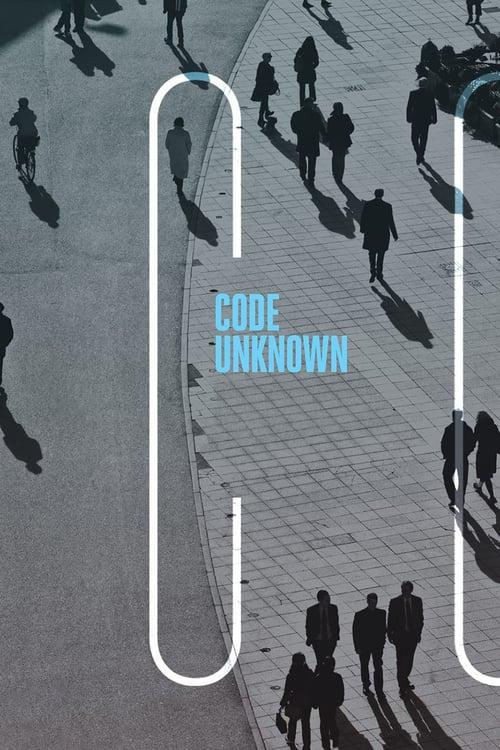 Code Unknown - Movie Poster