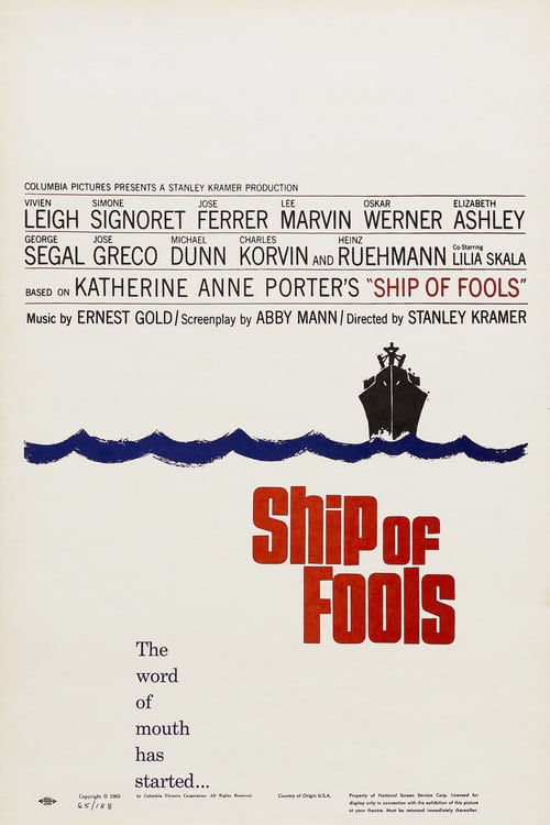 Ship of Fools - Movie Poster