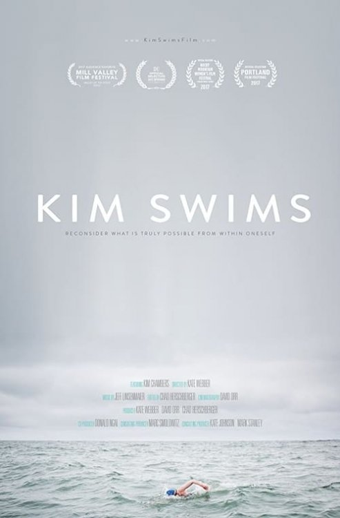 Kim Swims - Movie Poster