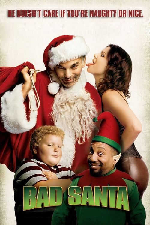Bad Santa - Movie Poster