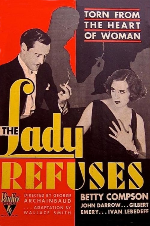 The Lady Refuses - Movie Poster