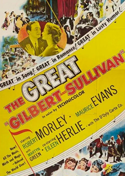 The Story of Gilbert and Sullivan - Movie Poster
