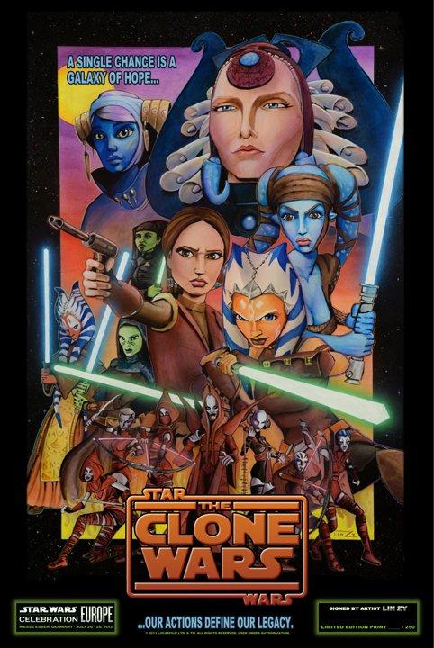 Star Wars: The Clone Wars - Movie Poster