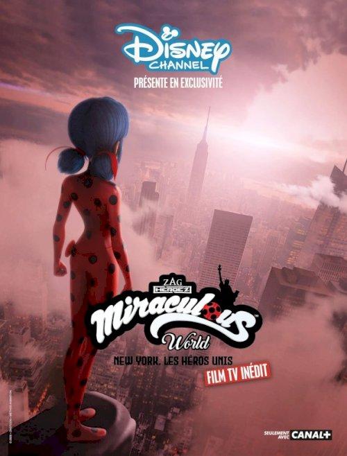Miraculous World: New York, United HeroeZ - Movie Poster