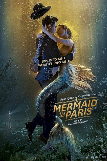 A Mermaid in Paris - Movie Poster