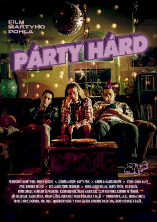 Párty Hárd - Movie Poster