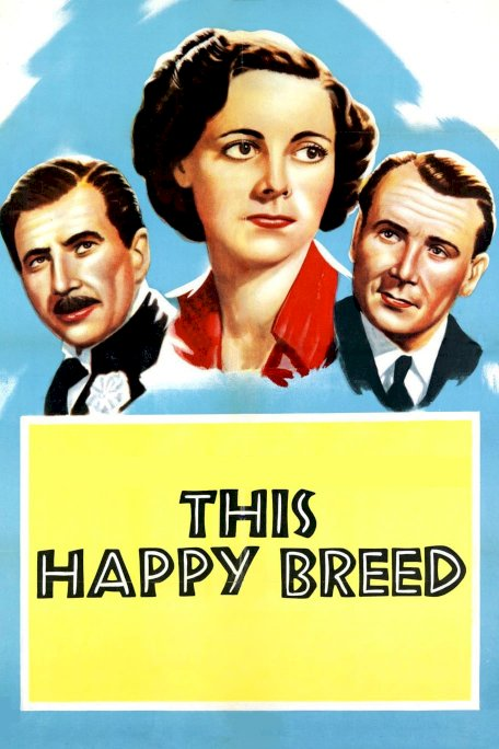 This Happy Breed - Movie Poster
