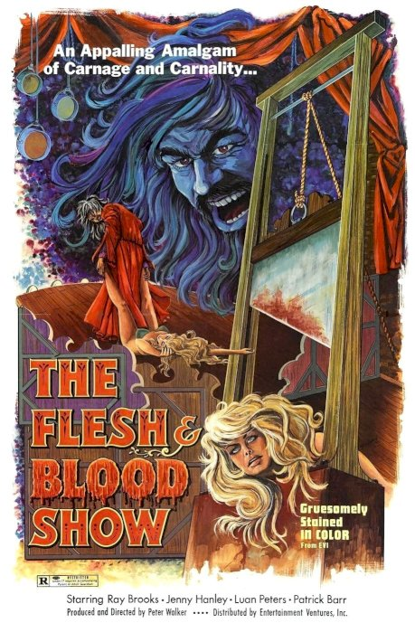 The Flesh and Blood Show - Movie Poster