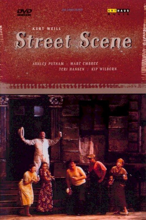 Kurt Weill - Street Scene - Movie Poster