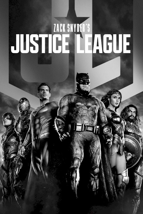 Zack Snyder's Justice League - Movie Poster